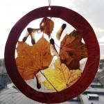 Autumn Leaf Sun Catchers (10)