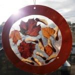 Autumn Leaf Sun Catchers (6)