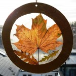 Autumn Leaf Sun Catchers (9)